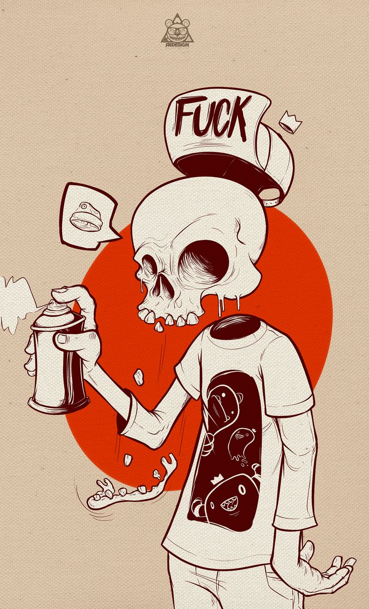 The Skull on Behance